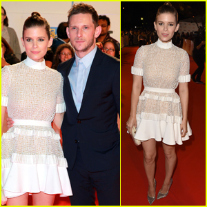 Kate Mara & Jamie Bell Couple Up For 'Film Stars Don't Die in Liverpool' Premiere