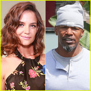 Jamie Foxx & Katie Holmes Step Out Separately After Photos Emerge of Them Holding Hands!