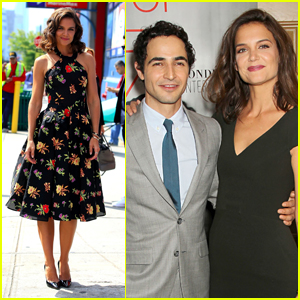 Katie Holmes Supports Designer Zac Posen at 'House of Z' Premiere in NYC