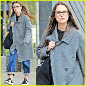 Keira Knightley Keeps It Casual to Run Errands in London