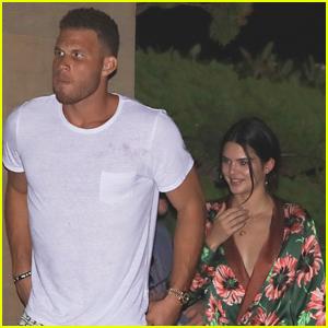 Rumored Couple Kendall Jenner & Blake Griffin Grab Dinner at Nobu