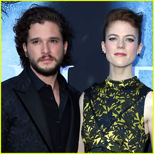 Kit Harington & Rose Leslie Are Engaged! (Report)