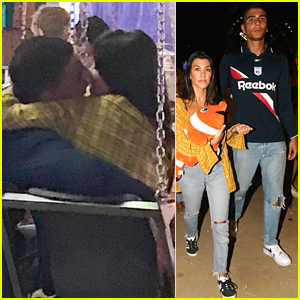 Kourtney Kardashian & Boyfriend Younes Bendjima Pack on the PDA at the Fair!