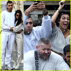 Kourtney Kardashian Enjoys Fun-Filled Day at Disneyland Paris with Boyfriend Younes Bendjima