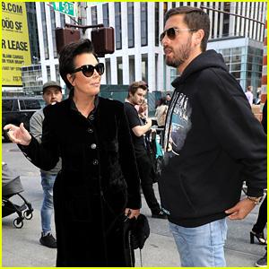Kris Jenner & Scott Disick Are NYFW Shopping Buddies