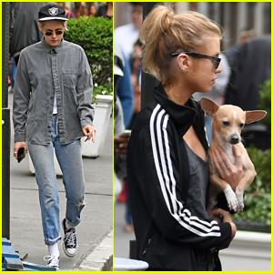 Kristen Stewart & Girlfriend Stella Maxwell Enjoy Afternoon Outing in NYC