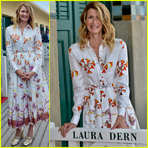 Laura Dern Receives Her Own Locker Room in Deauville