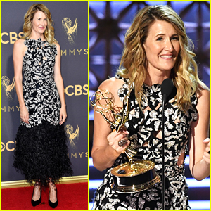 Laura Dern Wins Best Supporting Actress for 'Big Little Lies' at Emmys 2017!