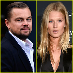 Leonardo DiCaprio Holds Hands with Ex Girlfriend Toni Garrn in New Photos