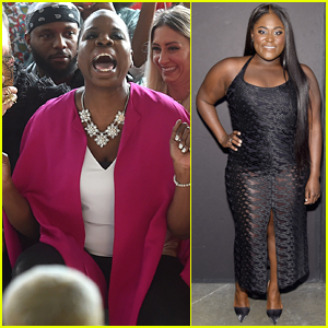 Leslie Jones Was Obsessed with Christian Siriano's NYFW Show!