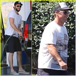 Liam & Luke Hemsworth Enjoy Some Brother Bonding Time