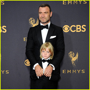 Liev Schreiber Brings His Adorable Son Kai to the Emmys 2017 Red Carpet!
