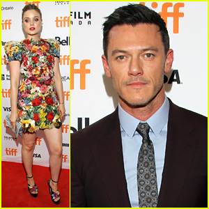 Luke Evans' Wonder Woman, Bella Heathcote, Joins Him at TIFF Premiere