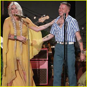 Macklemore & Kesha Perform 'Good Old Days' On 'Ellen' - Watch Here!