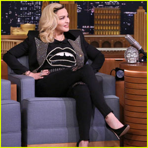 Madonna Impersonates Kim Kardashian During 'The Tonight Show's Lip Flip - Watch Here!