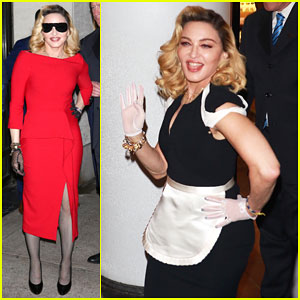 Madonna Promotes MDNA Skincare Line, Hits Comedy Cellar with Amy Schumer for Stand-Up Debut!