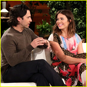 Mandy Moore's TV Husband Approves of Her Real-Life Fiance ...