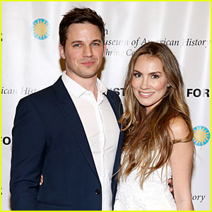 Matt Lanter & Wife Angela Reveal the Gender of Their Baby!