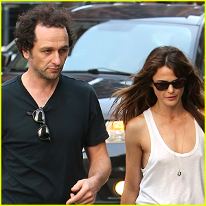 Matthew Rhys & Keri Russell Grab Dinner in New York City