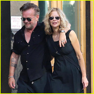 Meg Ryan & John Mellencamp Show Sweet PDA After Reuniting