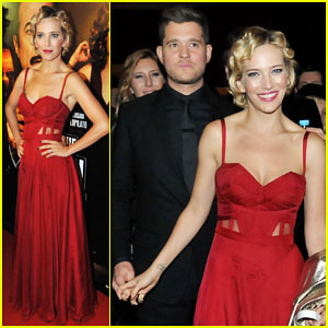 Michael Buble Hits Buenos Aires To Support Wife Luisana at 'Los Que Aman, Odian' Premiere!