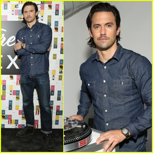 Milo Ventimiglia Looks So Handsome While Hosting 'Timex' Event