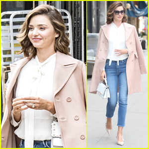 Miranda Kerr Spends the Afternoon at a Meeting in NYC