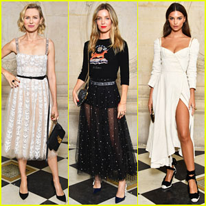 Naomi Watts, Annabelle Wallis & Emily Ratajkowski Hit Up Christian Dior Show!