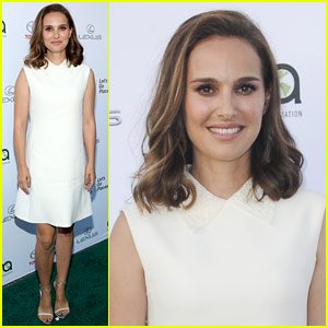 Natalie Portman Arrives in Style for EMA Awards 2017