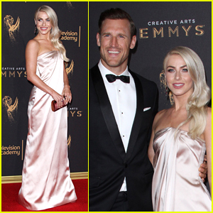 Newlyweds Julianne Hough & Brooks Laich Attend the Creative Emmy Awards 2017