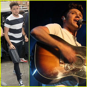 Niall Horan Kicks Off Flicker Sessions Tour, Performs One Direction Song! (Video)