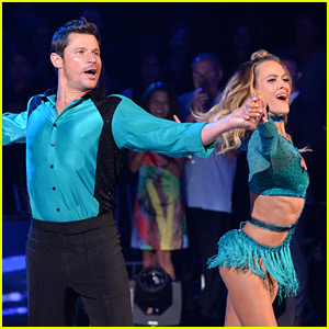 Nick Lachey Dances a Cha-cha-cha for 'DWTS' Premiere with Peta Murgatroyd (Video)