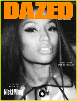 Nicki Minaj's 10-Year Reign Highlighted on New 'Dazed' Cover