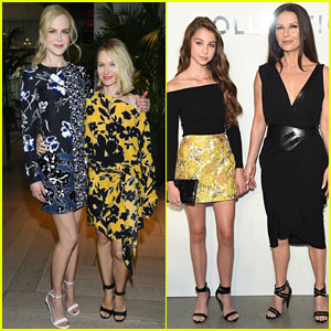 Nicole Kidman, Naomi Watts & Catherine Zeta-Jones Support Michael Kors at NYFW Show!