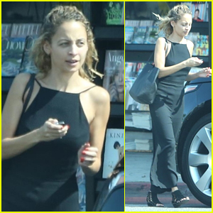 Nicole Richie Goes Makeup-Free While Running Errands