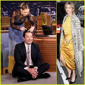 Nicole Richie Talks Season Two of 'Great News' While Braiding Jimmy Fallon's Hair - Watch Here!