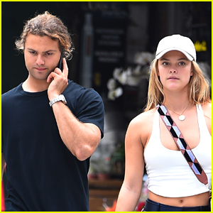 Nina Agdal & Boyfriend Jack Brinkley-Cook Enjoy Afternoon Date in NYC