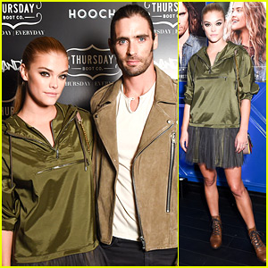 Nina Agdal & Tyson Ritter Host Thursday Boot Co.'s NYFW Presentation