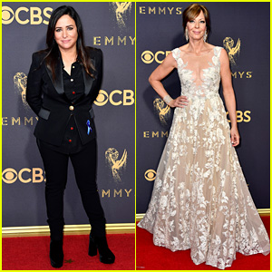 Pamela Adlon & Allison Janney Are Leading Ladies at Emmy Awards 2017