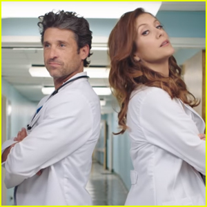 Patrick Dempsey & Kate Walsh Have Mini 'Grey's Anatomy' Reunion!