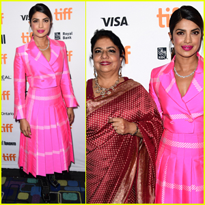 Priyanka Chopra is Joined by Her Mom at TIFF Premiere of 'Pahuna: The Little Visitors'