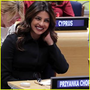 Priyanka Chopra Is Committed to Educating Girls Worldwide