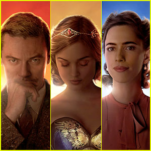 Luke Evans, Rebeccca Hall & Bella Heathcote Look Heroic on 'Professor Marston & The Wonder Women' Posters!