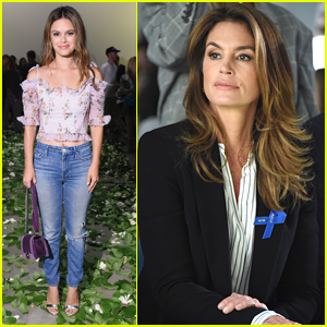 Rachel Bilson is Pretty in Florals at NYFW Event