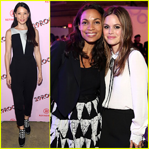 Rachel Bilson & Rosario Dawson Meet Up at Star-Studded 29Rooms Event!