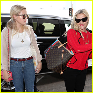 Reese Witherspoon & Daughter Ava Are Post-Emmys Jetsetters!