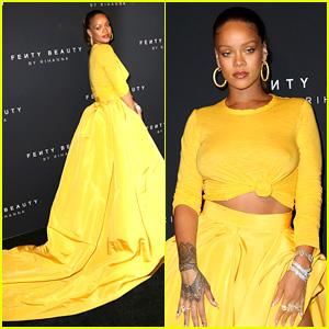 Rihanna Has Major Red Carpet Moment at Fenty Beauty Launch!