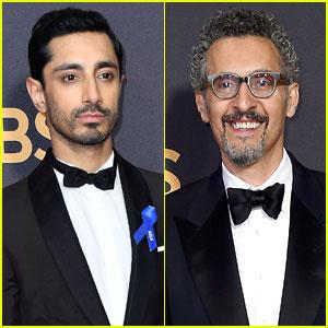 Riz Ahmed Wears ACLU Ribbon on Emmys 2017 Red Carpet