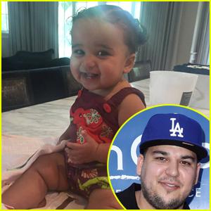 Rob Kardashian Comparte la Foto de la Hija de Sueño Después de Llegar a Acuerdo de Custodia con su Ex Blac Chyna