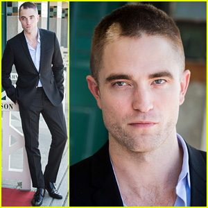Robert Pattinson Debuts New Buzz Cut at Deauville Film Fest!